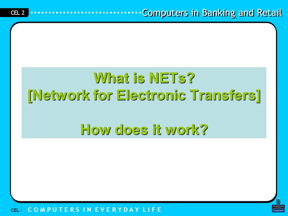 What is NETs [Network for Electronic Transfers] How does it work